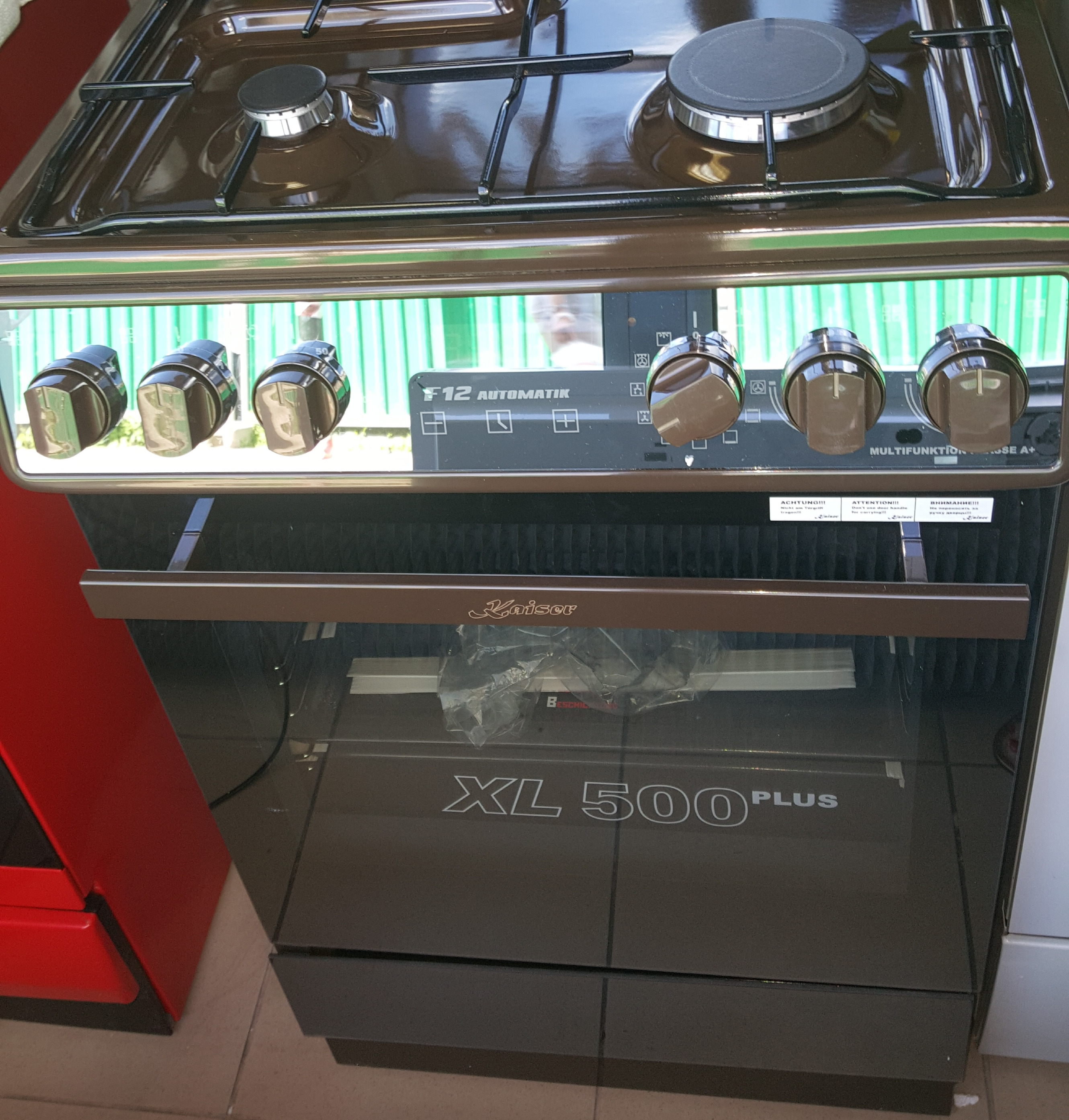Kuchnia Gazowo Elektryczna 1 Pole Elektryczne Kaiser Hge52306kb